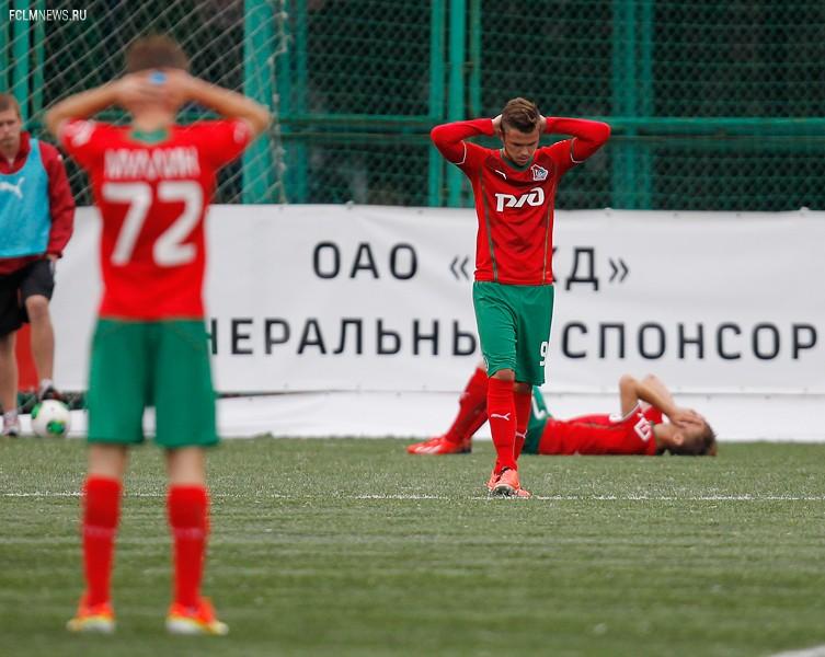 Молодежные составы. «Локомотив» - ЦСКА 1:3