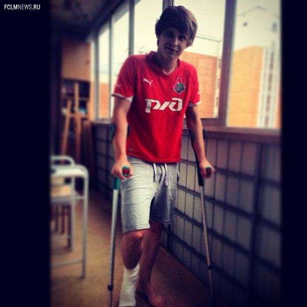 Никита Саламатов получил перелом ноги в матче молодежек