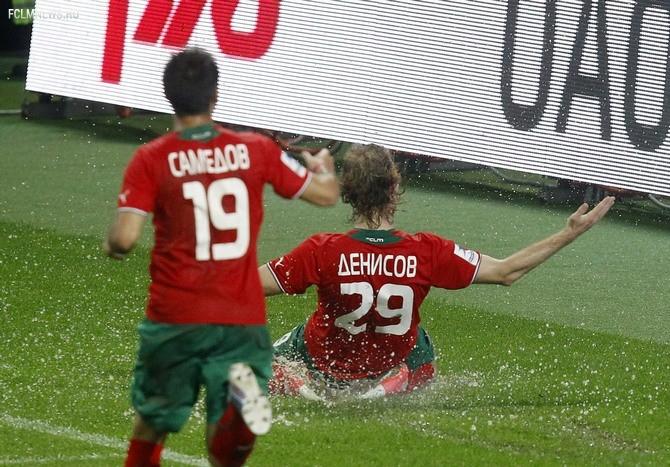 Гол Денисова