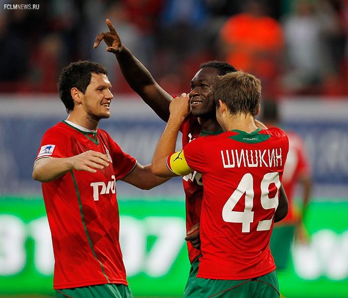 «Локомотив» - «Ростов» 5:0