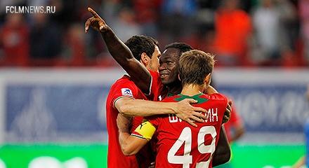 «Локомотив» забил пять мячей впервые с 2007 года