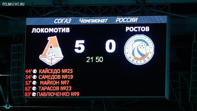 Итоги 6-го тура чемпионата России в цифрах