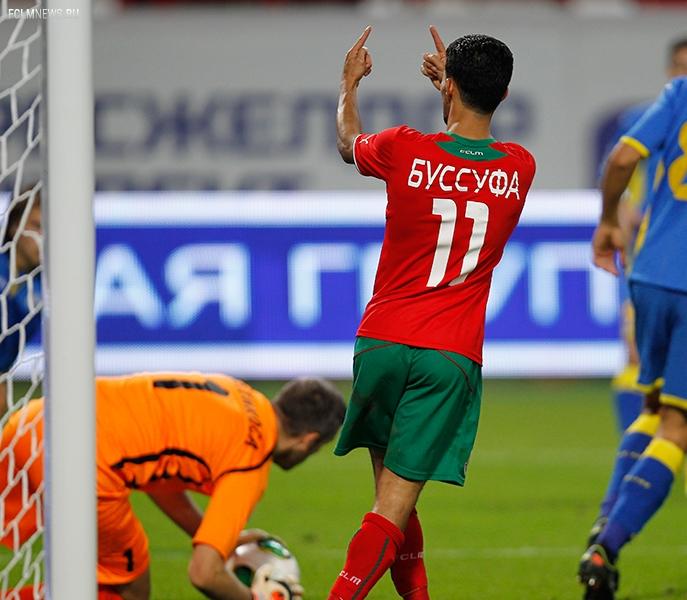 Буссуфа провел 70-й матч в чемпионатах России