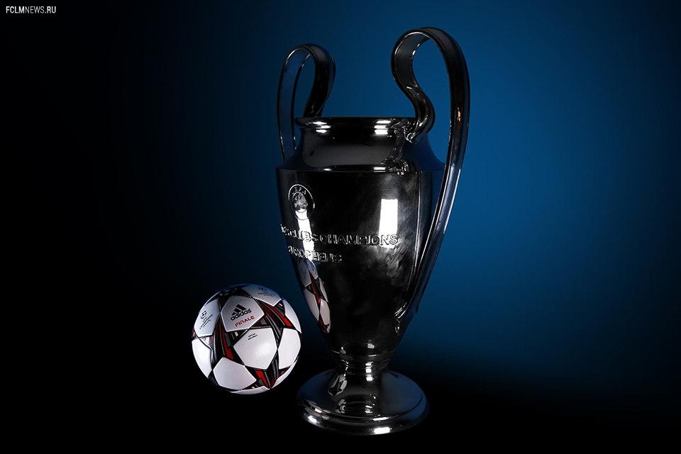 Новые мячи Лиги чемпионов и Лиги Европы (фото)