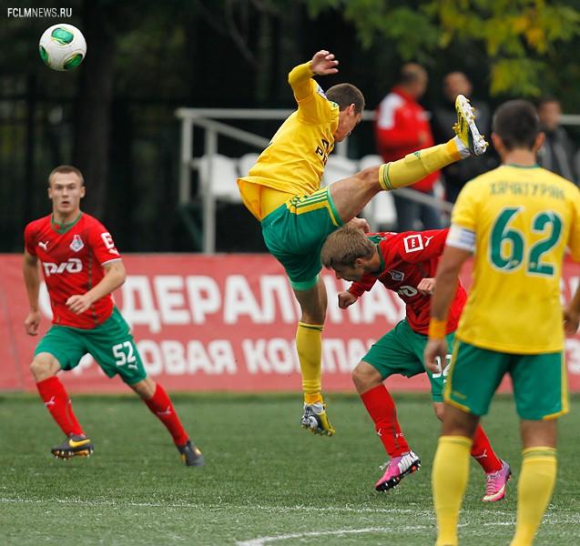 Молодежные составы. «Локомотив» - «Кубань» 2:2