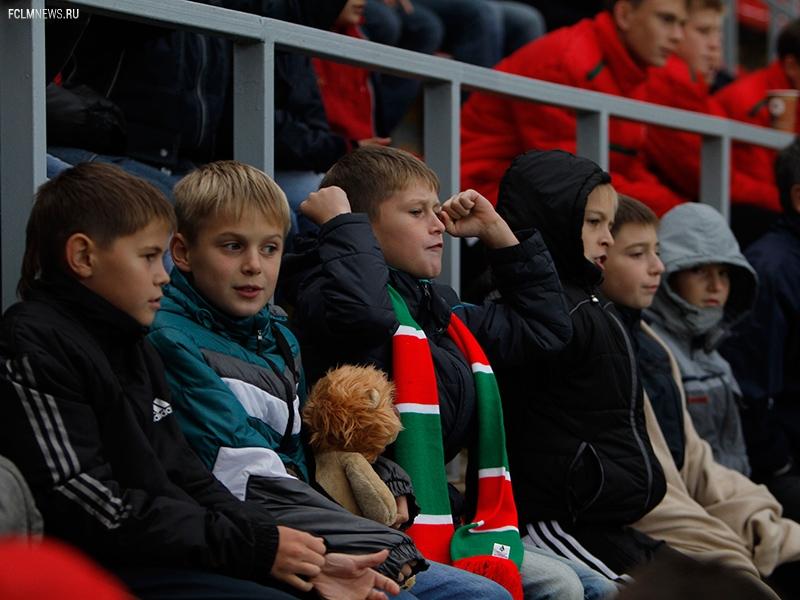 Школьный на матче с «Кубанью»