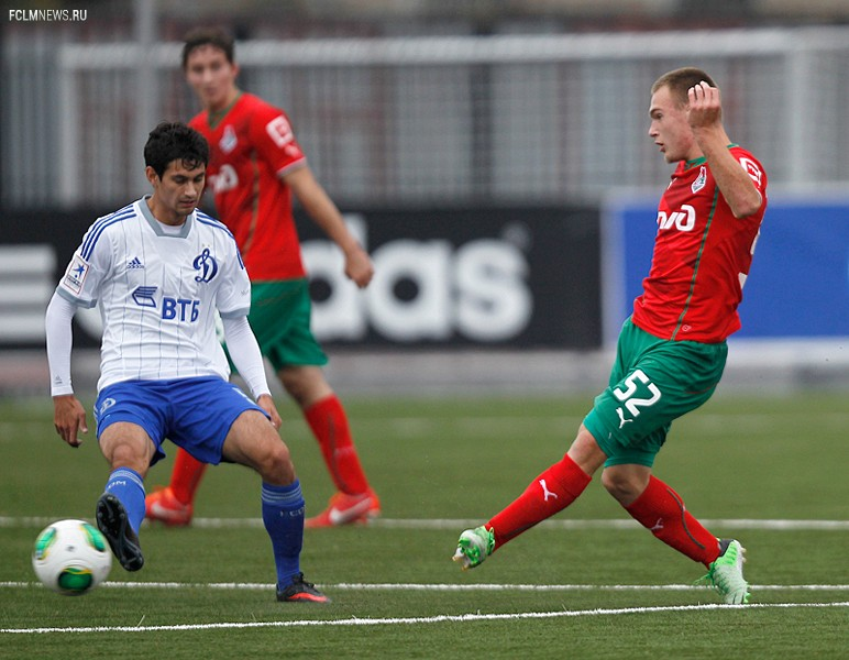 Молодежные составы. «Динамо» - «Локомотив» 3:0