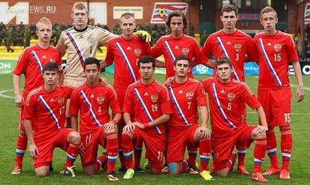 Трое игроков «Локо» в составе юношеской сборной вышли в элитный раунд ЧЕ-2014 U-17