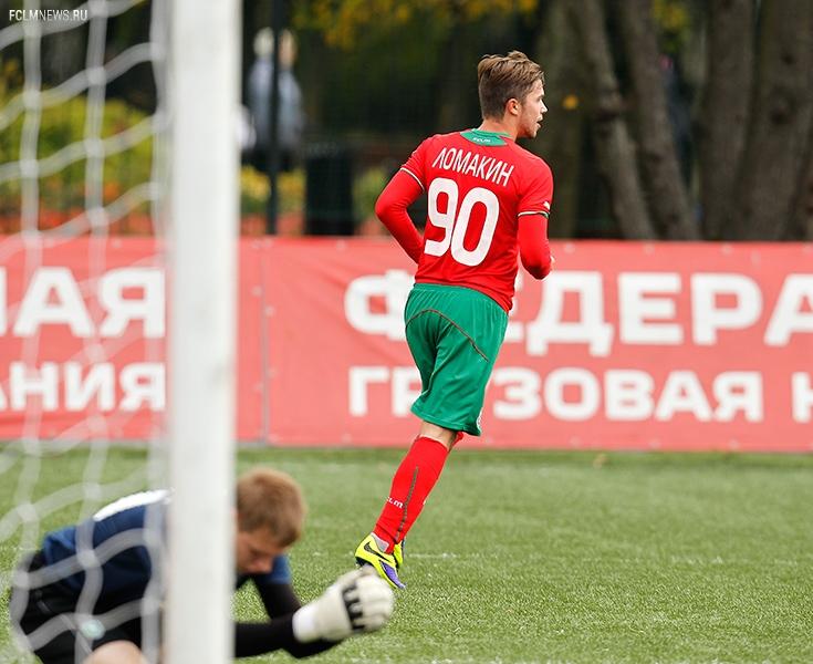 «Локомотив» - «Томь» 4:0. Молодёжное первенство.