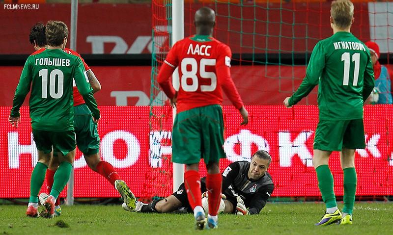 «Локомотив» - «Томь» 0:0