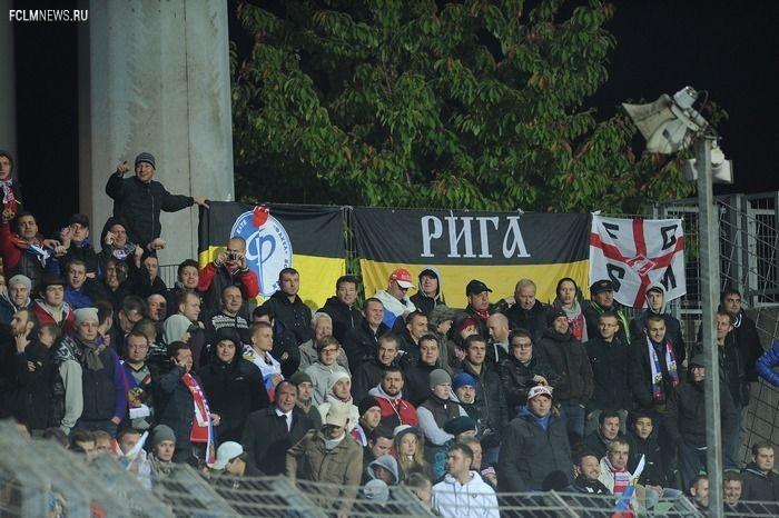 Российские болельщики подрались в Люксембурге