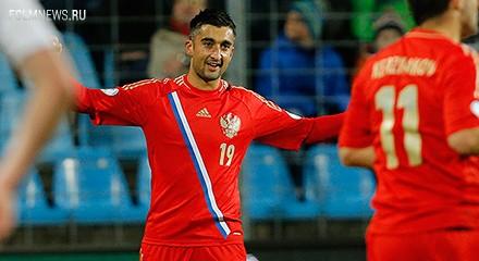 Самедов снова забил Люксембургу!