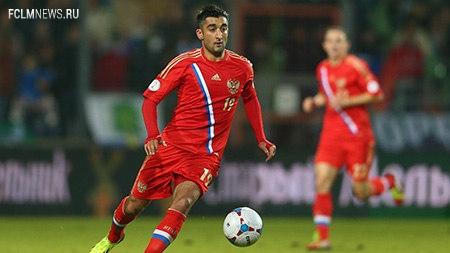 Самедов — лучший в матче с Люксембургом