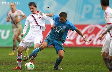 Алексей Миранчук провел полный матч за молодежную сборную