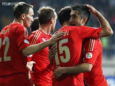 Поставь оценку каждому россиянину за матч с Азербайджаном!