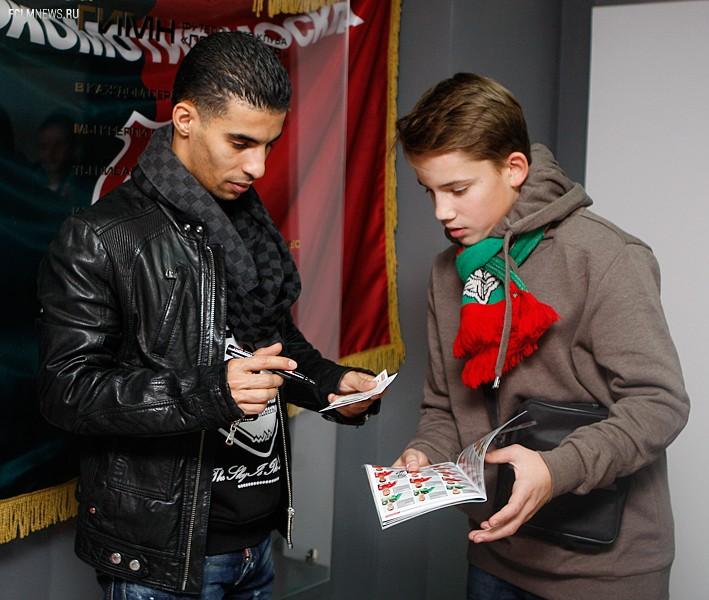 Игроки «Локо» пообщались с болельщиками