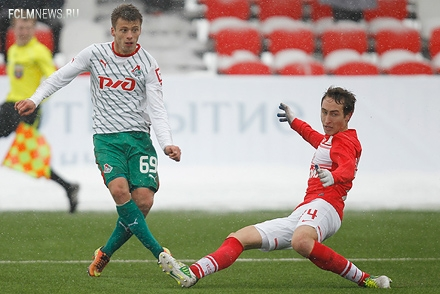 «Молодежки» «Локомотива» и «Спартака» сыграют в 14:00