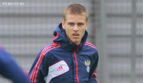 Логашов забил первый мяч в карьере