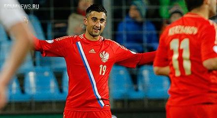 Самедов принес России ничью с Сербией, Тарасов дебютировал за сборную