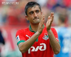 Александр Самедов лучший в матче сборной России с Сербией