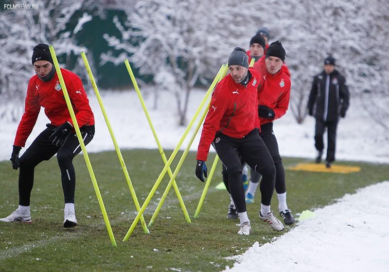 Зимняя тренировка перед выездом на Юг