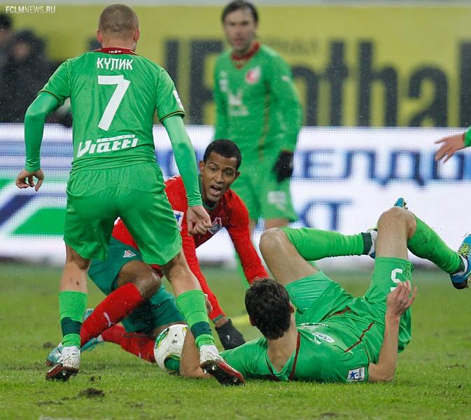 «Локомотив» - «Рубин» 0:0