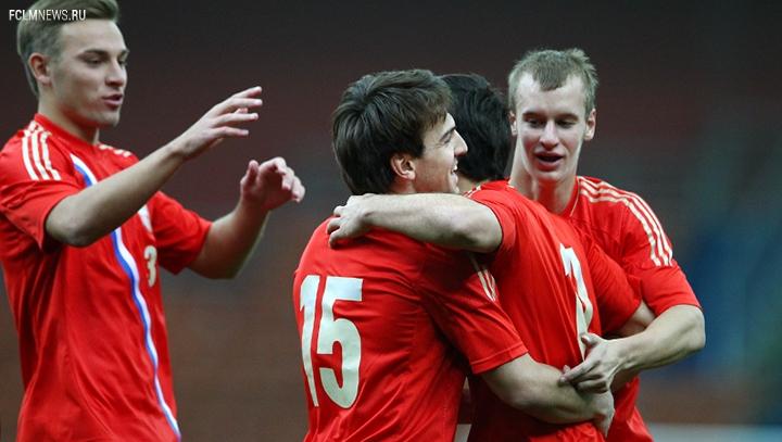 Молодежная сборная России обыграла команду Молдавии