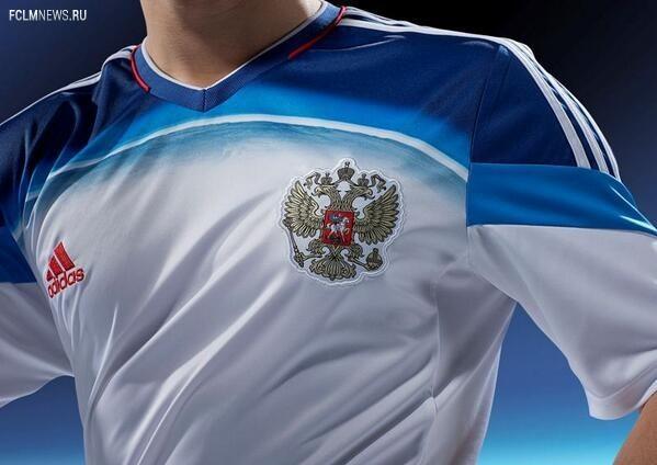 Сегодня пройдет презентация выездной формы сборной России