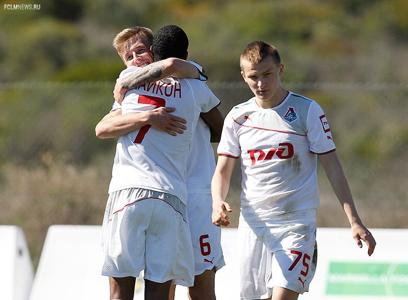 «Локомотив» - «Малага Б» 2:0