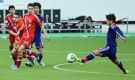 Анисимов сыграл тайм за юношескую сборную