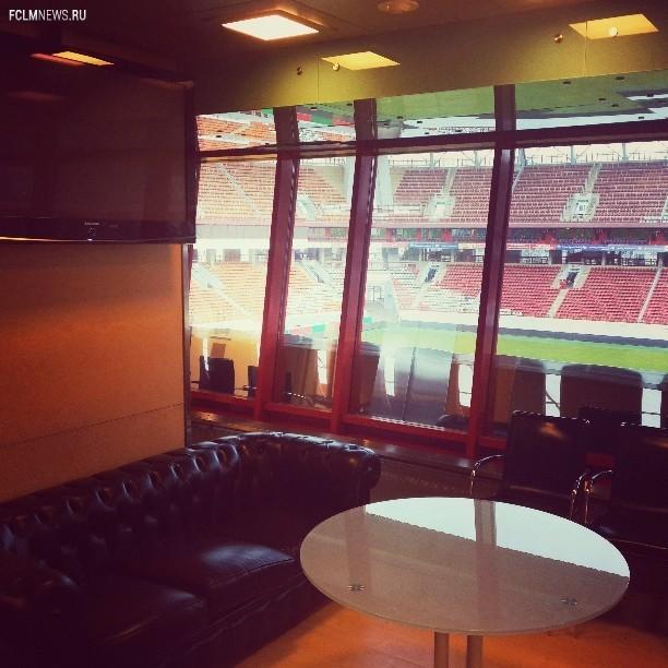 Стадион готовится к продолжению сезона