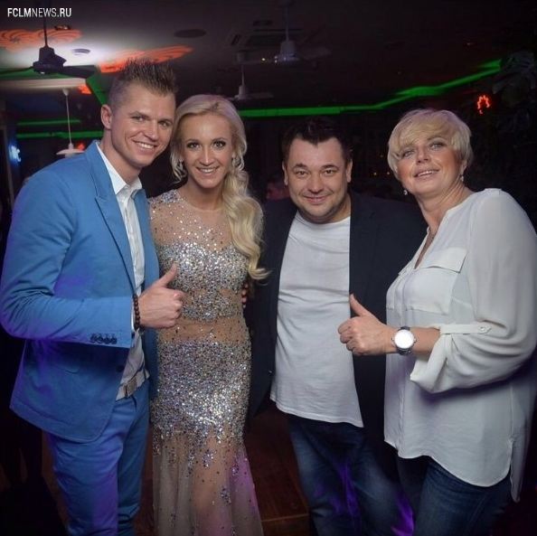 Как Дмитрий Тарасов отметил день рождения