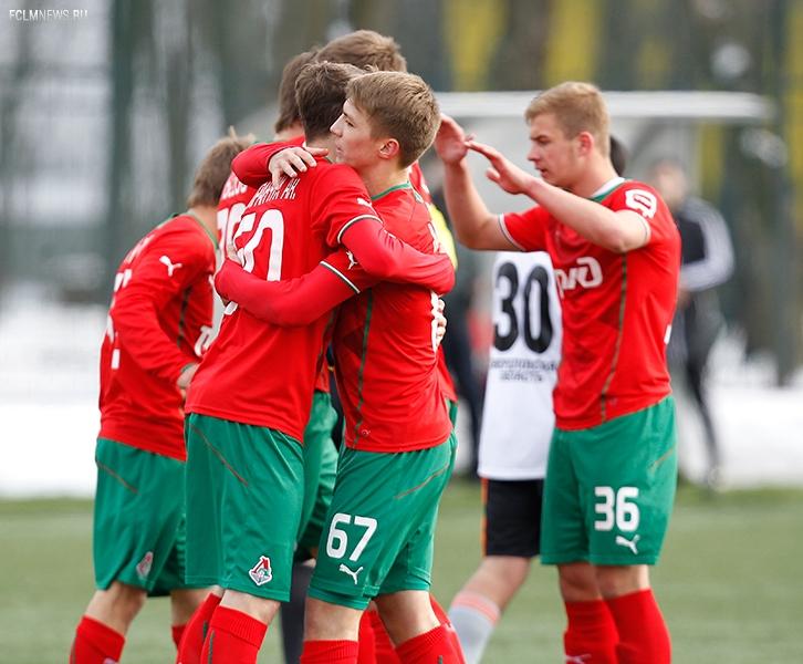 «Локомотив» - «Урал» 2:0 Молодежные составы.