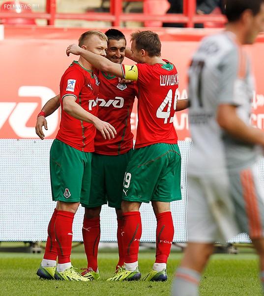 """Локомотив"" 3 - 0 ""Урал"""