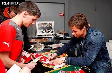 Александр Шешуков побывал в музее «Локомотива»