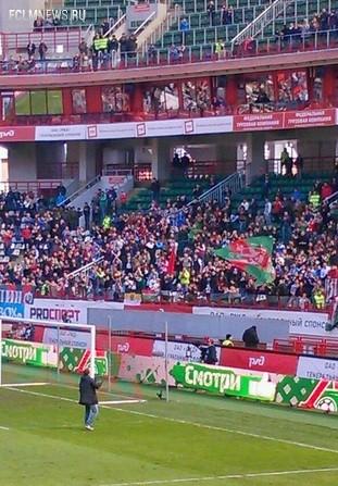 После игры Алиев поблагодарил болельщиков «Локомотива»