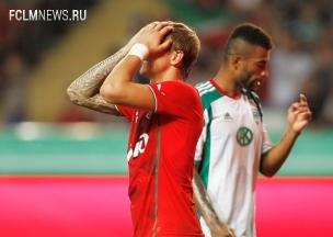 «Локомотив» одержал победу над «Тереком» благодаря дублю Павлюченко