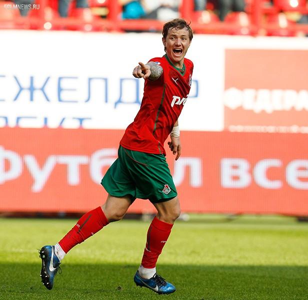 «Локомотив» – «Терек». Павлюченко показал стопроцентную точность ударов