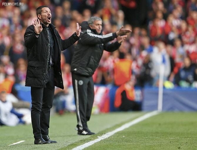Лига чемпионов. 1/2 финала.. «Челси» проиграл «Атлетико»