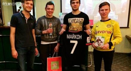 Евгений Шуренко выиграл турнир по FIFA 14, Денис Волков – конкурс рисунков