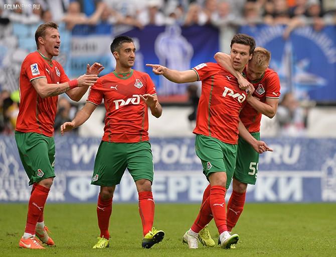 «С такой командой и с таким тренером мы готовы играть в Лиге чемпионов». Игроки «Локо» о матче с «Зенитом»