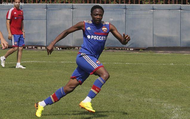 Муса в преддверии матча с «Локомотивом» вернулся в общую группу