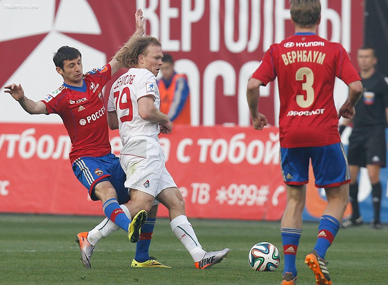 ЦСКА - «Локомотив» 1:0