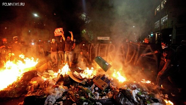 Полиция Бразилии применила газ для разгона противников ЧМ по футболу
