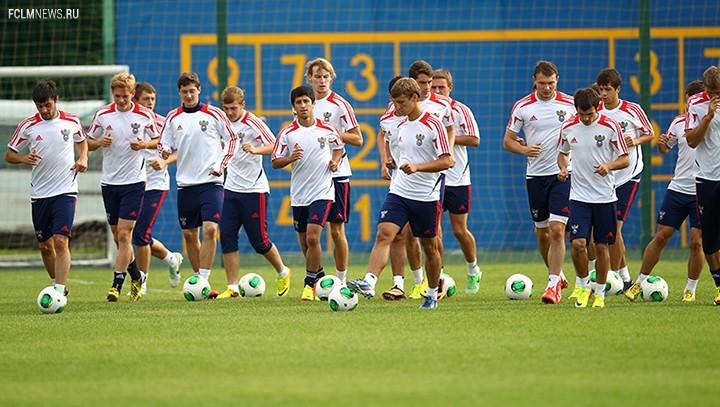 Молодежная сборная начинает подготовку