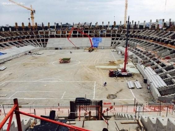 Как выглядят строящиеся российские стадионы прямо сейчас