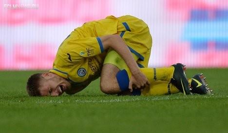"""Сроки восстановления игрока """"Локо"""" Логашова прояснятся через 2 недели - клуб"""