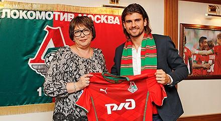 «Локомотив» подписал контракт с Неманьей Пейчиновичем