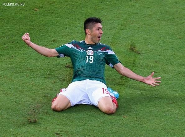 """ЧМ-2014. Группа """"А"""". Мексика - Камерун 1:0"""