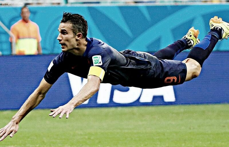 "ЧМ-2014. Группа ""B"". Испания - Голландия 1-5"